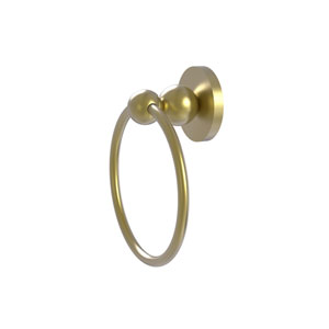 Bolero Satin Brass Six-Inch Towel Ring