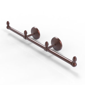 Monte Carlo Antique Copper Four-Inch Three Arm Guest Towel Holder