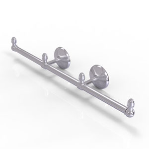 Monte Carlo Satin Chrome Four-Inch Three Arm Guest Towel Holder