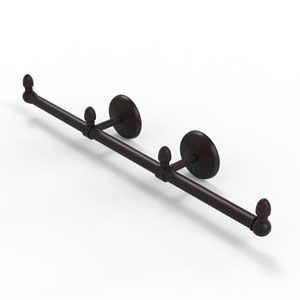 Monte Carlo Venetian Bronze Four-Inch Three Arm Guest Towel Holder