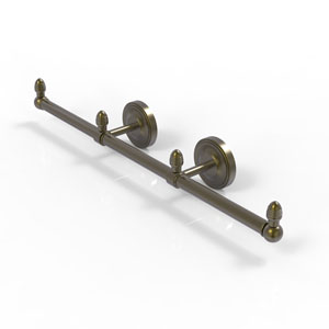 Prestige Regal Antique Brass Four-Inch Three Arm Guest Towel Holder
