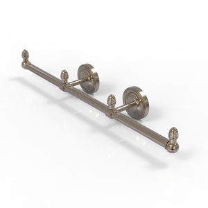 Prestige Regal Antique Pewter Four-Inch Three Arm Guest Towel Holder