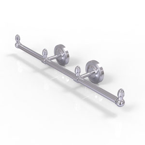 Prestige Regal Satin Chrome Four-Inch Three Arm Guest Towel Holder