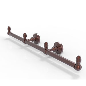 Waverly Place Antique Copper Four-Inch Three Arm Guest Towel Holder