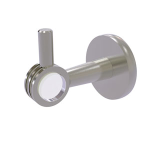 Clearview Satin Nickel Three-Inch Robe Hook with Dotted Accents