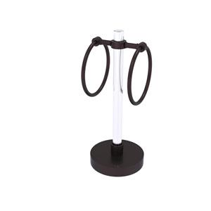 Clearview Antique Bronze Six-Inch Vanity Top Guest Towel Ring