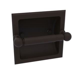 Dottingham Oil Rubbed Bronze Six-Inch Recessed Toilet Paper Holder