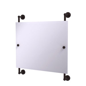 Dottingham Antique Bronze 26-Inch Landscape Rectangular Frameless Rail Mounted Mirror