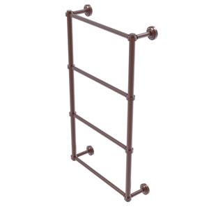 Dottingham Antique Copper 30-Inch Four-Tier Ladder Towel Bar
