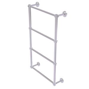 Dottingham Polished Chrome 36-Inch Four-Tier Ladder Towel Bar