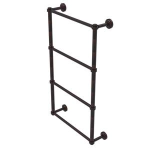 Dottingham Venetian Bronze 36-Inch Four-Tier Ladder Towel Bar