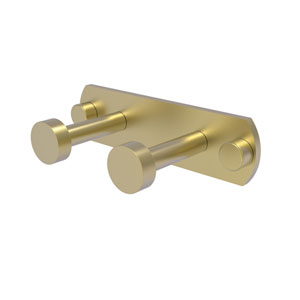 Fresno Satin Brass Three-Inch Two-Position Multi Hook