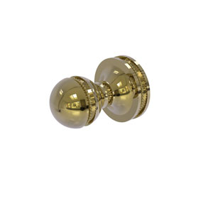 Mambo Unlacquered Brass Two-Inch Robe Hook