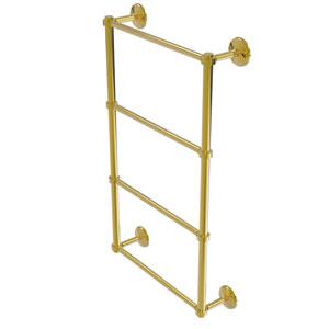 Monte Carlo Polished Brass 30-Inch Four-Tier Ladder Towel Bar