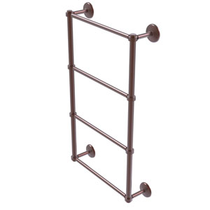 Monte Carlo Antique Copper 36-Inch Four-Tier Ladder Towel Bar