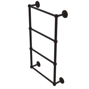 Monte Carlo Oil Rubbed Bronze 36-Inch Four-Tier Ladder Towel Bar