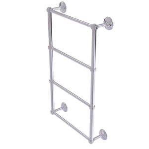 Monte Carlo Polished Chrome 36-Inch Four-Tier Ladder Towel Bar