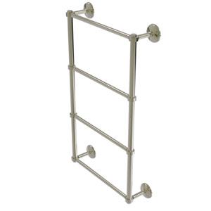 Monte Carlo Polished Nickel 36-Inch Four-Tier Ladder Towel Bar
