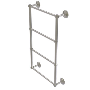 Monte Carlo Satin Nickel 36-Inch Four-Tier Ladder Towel Bar