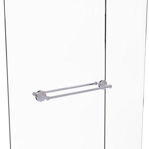 Monte Carlo Polished Chrome 24-Inch Back to Back Shower Door Towel Bar