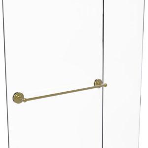 Monte Carlo Satin Brass 30-Inch Shower Door Towel Bar