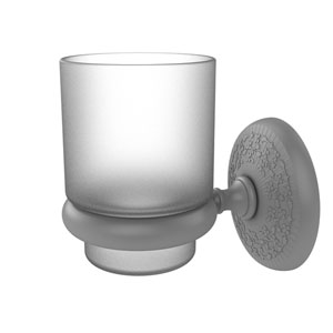 Monte Carlo Matte Gray Three-Inch Wall Mounted Tumbler Holder