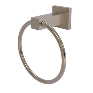 Montero Antique Pewter Four-Inch Towel Ring
