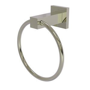 Montero Polished Nickel Four-Inch Towel Ring
