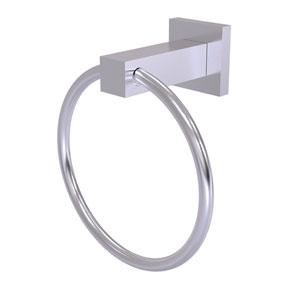 Montero Satin Chrome Four-Inch Towel Ring