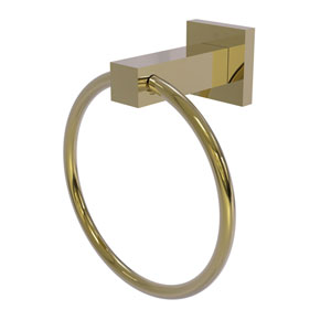Montero Unlacquered Brass Four-Inch Towel Ring