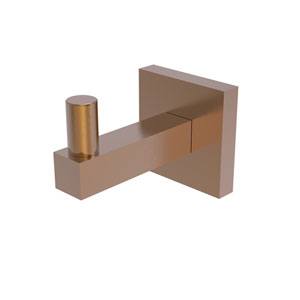 Montero Brushed Bronze Three-Inch Robe Hook