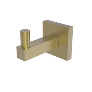 Montero Satin Brass Three-Inch Robe Hook