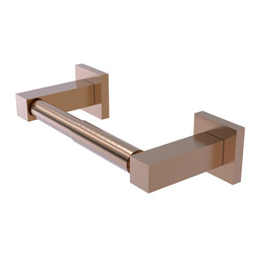 Montero Brushed Bronze Four-Inch Two Post Toilet Tissue Holder