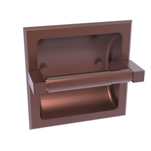 Montero Antique Copper Six-Inch Recessed Toilet Paper Holder