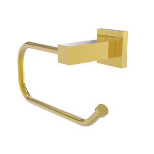 Montero Polished Brass Four-Inch Toilet Tissue Holder