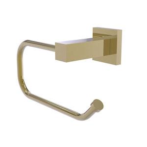 Montero Unlacquered Brass Four-Inch Toilet Tissue Holder