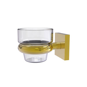 Montero Polished Brass Four-Inch Wall Mounted Votive Candle Holder