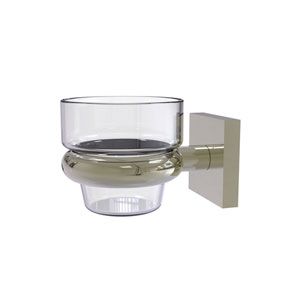 Montero Polished Nickel Four-Inch Wall Mounted Votive Candle Holder