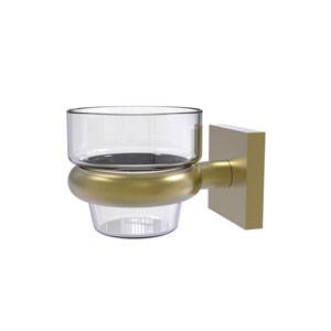 Montero Satin Brass Four-Inch Wall Mounted Votive Candle Holder