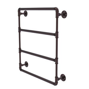 Pipeline Antique Bronze 24-Inch Wall Mounted Ladder Towel Bar