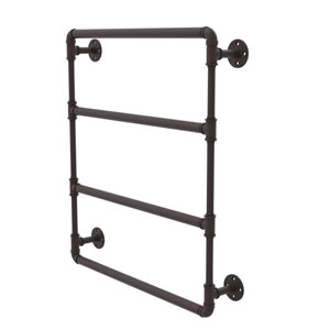 Pipeline Oil Rubbed Bronze 30-Inch Wall Mounted Ladder Towel Bar