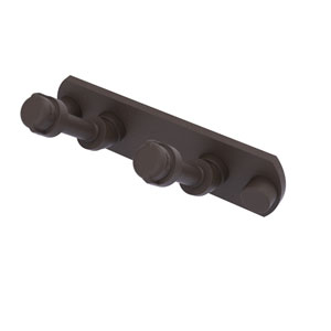 Pipeline Oil Rubbed Bronze Three-Inch Two-Position Multi Hook