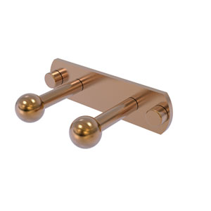 Prestige Skyline Brushed Bronze Three-Inch Two-Position Multi Peg