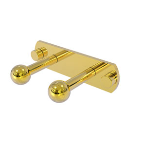 Prestige Skyline Polished Brass Three-Inch Two-Position Multi Peg