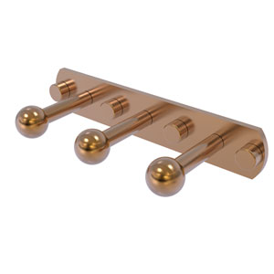 Prestige Skyline Brushed Bronze Three-Inch Three-Position Multi Peg