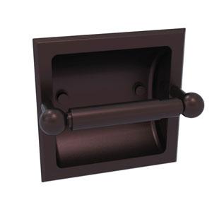 Prestige Skyline Antique Bronze Six-Inch Recessed Toilet Paper Holder