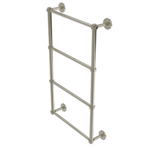 Prestige Skyline Polished Nickel 30-Inch Four-Tier Ladder Towel Bar