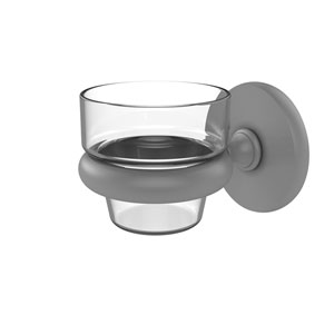 Prestige Skyline Matte Gray Three-Inch Wall Mounted Votive Candle Holder