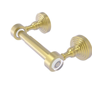 Pacific Grove Satin Brass Two-Inch Two Post Toilet Paper Holder