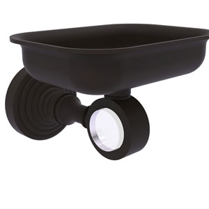 Pacific Grove Oil Rubbed Bronze Three-Inch Wall Mounted Soap Dish Holder